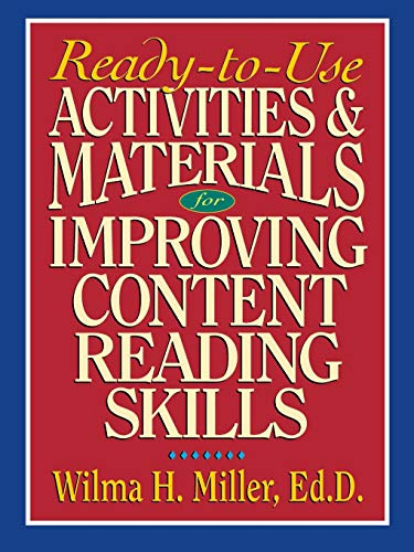 9780130078155: Ready to Use Activities and Materials for Improving Content Reading Skills