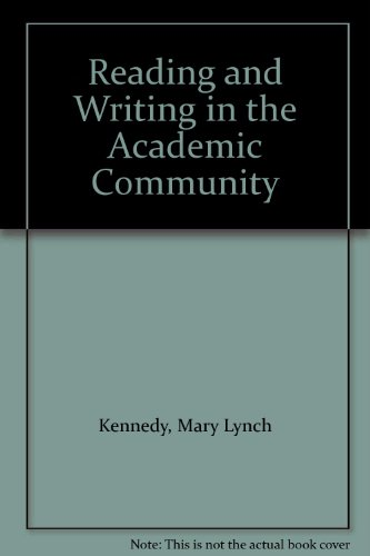 9780130079725: Reading and Writing in the Academic Community
