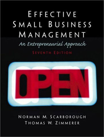9780130081162: Effective Small Business Management