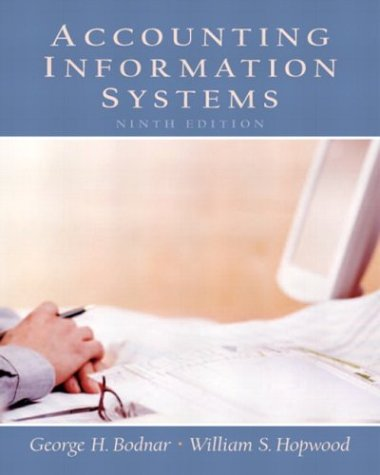 9780130082053: Accounting Information Systems (9th Edition)
