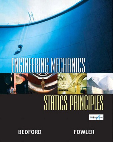 9780130082077: Engineering Mechanics-Statics Principles, Third Edition