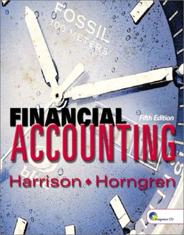9780130082138: Financial Accounting, Fifth Edition