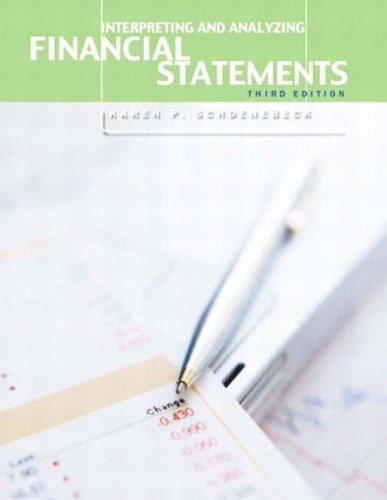 9780130082169: Interpreting and Analyzing Financial Statements