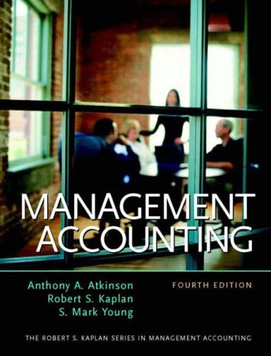 9780130082176: Management Accounting (Robert S. Kaplan Series in Management Accounting)