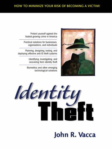 9780130082756: Identity Theft