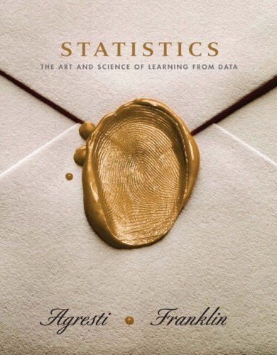 9780130083692: Statistics: The Art And Science of Learning from Data