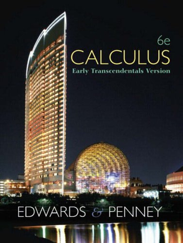 9780130084071: Calculus, Early Transcendentals
