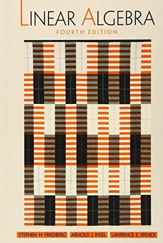 9780130084514: Linear Algebra, 4th Edition