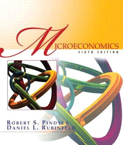 9780130084613: Microeconomics, 6th Edition