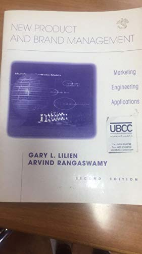 9780130084644: New Product and Brand Managment: Marketing Engineering Applications (2nd Edition)
