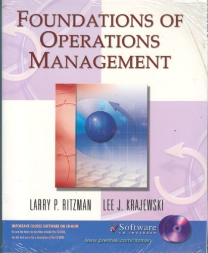 9780130085214: Foundations of Operations Management