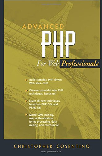 9780130085399: Advanced PHP for Web Professionals