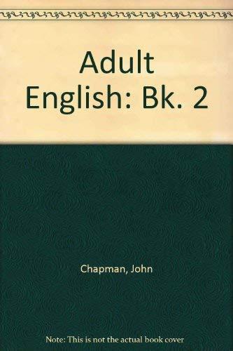 9780130088390: Adult English Two (Bk. 2)