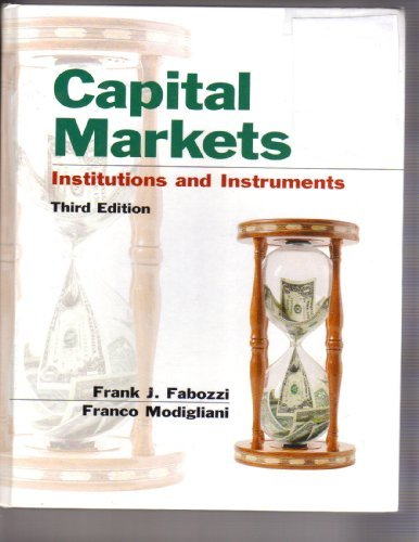 9780130090683: Capital Markets: Institutions and Instruments