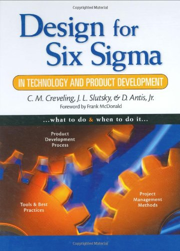 9780130092236: Design for Six Sigma in Technology and Product Development