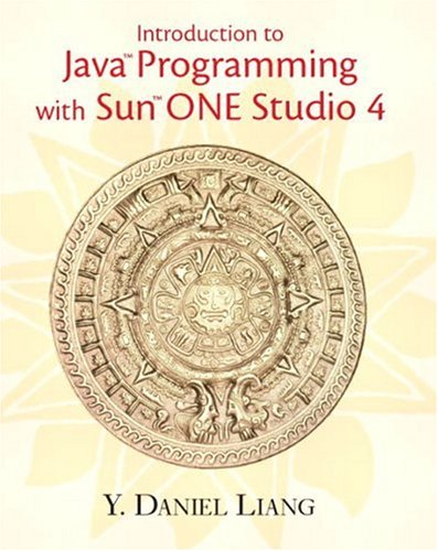 9780130092588: Introduction to Java Programming with Sun ONE Studio 4