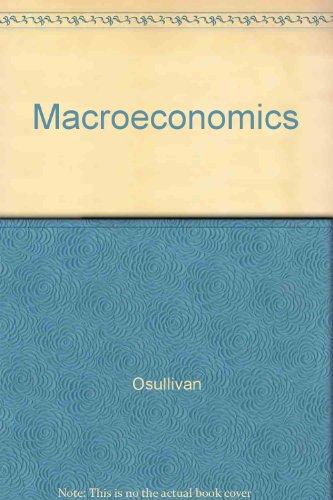 9780130093202: Macroeconomics