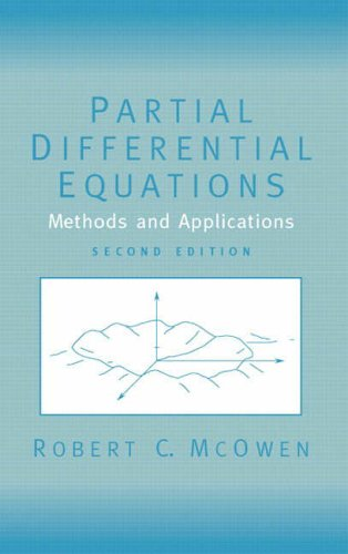 9780130093356: Partial Differential Equations: Methods and Applications (Featured Titles for Partial Differential Equations)