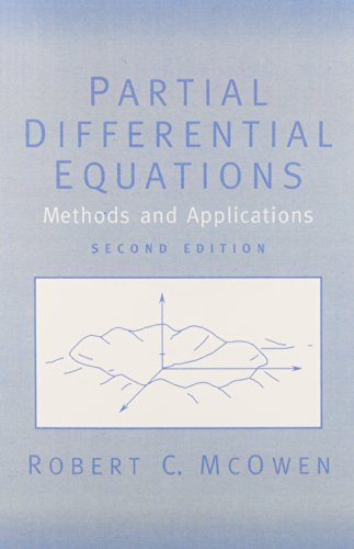9780130093356: Partial Differential Equations: Methods and Applications (2nd Edition)
