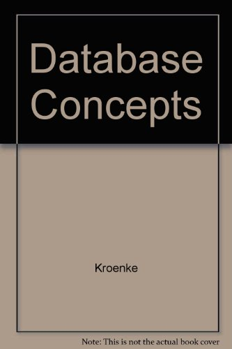 9780130093608: Database Concepts