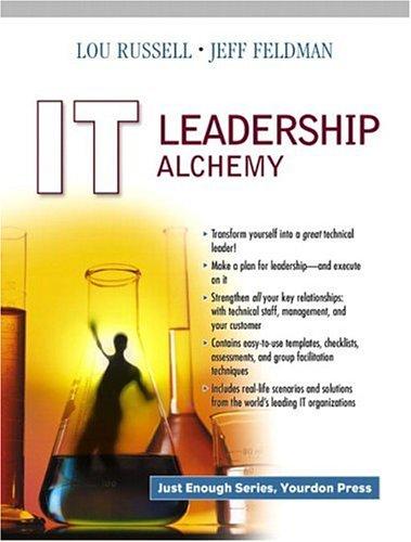9780130094032: IT Leadership Alchemy