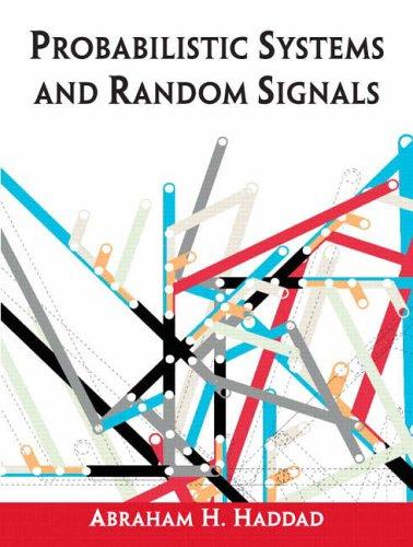 9780130094551: Probabilistic Systems and Random Signals