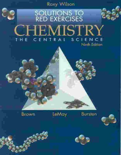 9780130097996: Chemistry: The Central Science: Solutions to Red Exercises