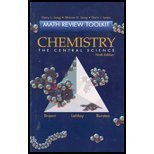 9780130098016: Chemistry: The Central Science (Math Review Toolkit)