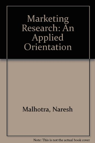 naresh malhotra marketing research an applied orientation 4th edition prentice hall