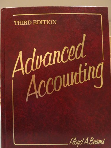 9780130100917: Advanced Accounting
