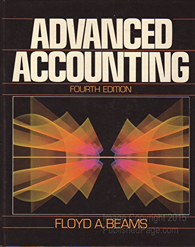 9780130101822: Advanced Accounting