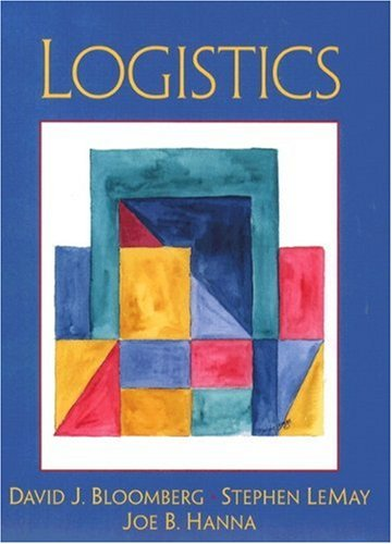Logistics: Bloomberg, David J.; LeMay, Stephen B.; Hanna, Joe B.