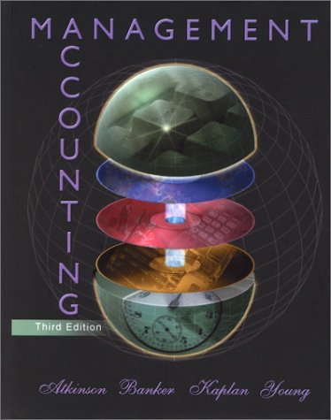 9780130101952: Management Accounting, 3rd Ed.