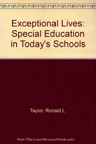 9780130101983: Exceptional Lives: Special Education in Today's Schools
