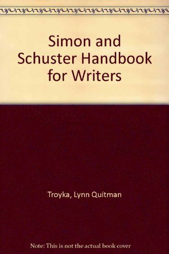 9780130102188: Simon and Schuster Handbook for Writers