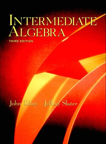 9780130102263: Intermediate Algebra