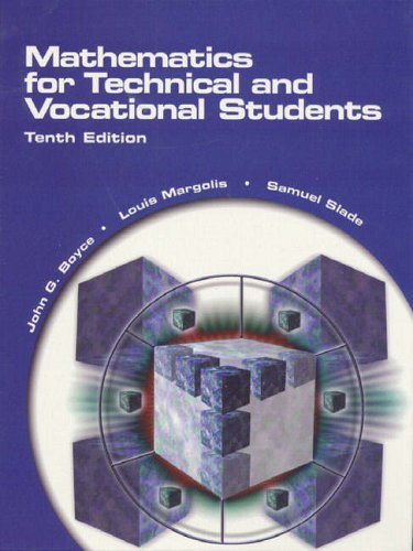 9780130104328: Mathematics for Technical and Vocational Students