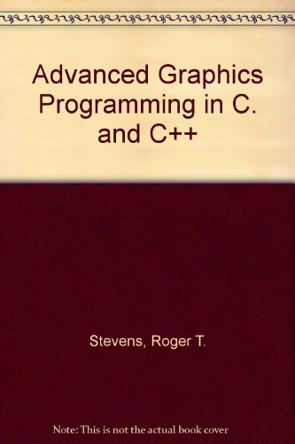 9780130104632: Advanced Graphics Programming in C. and C++