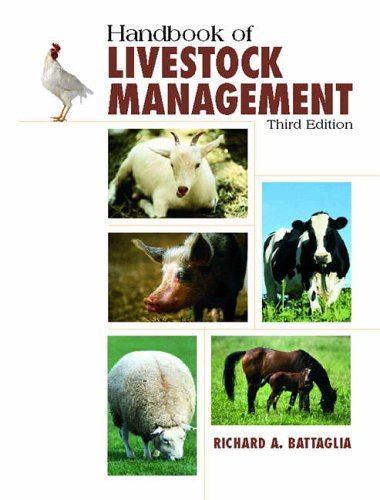 9780130104915: Handbook of Livestock Management