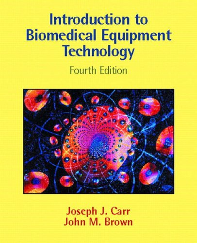 9780130104922: Introduction to Biomedical Equipment Technology