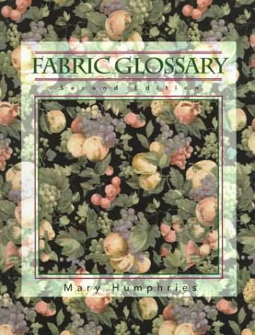 9780130105745: Fabric Glossary (2nd Edition)