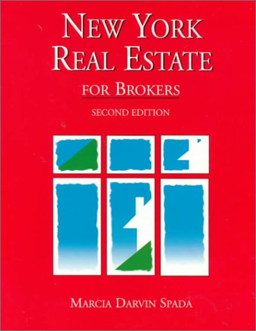 9780130105806: New York Real Estate for Brokers