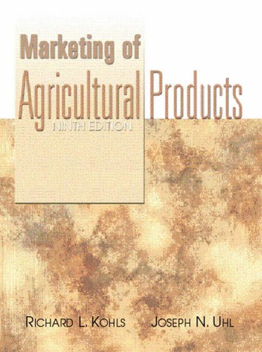 9780130105844: Marketing of Agricultural Products