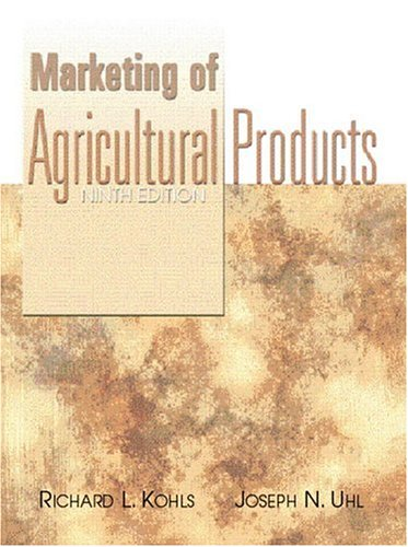 9780130105844: Marketing of Agricultural Products (9th Edition)