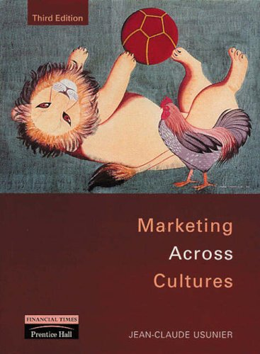 9780130106681: Marketing Across Cultures (3rd Edition)