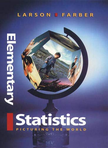 9780130107343: Elementary Statistics: Picturing the World