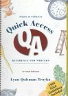 9780130107626: Simon and Schuster Quick Access Reference for Writers