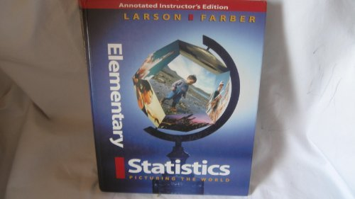 9780130107978: Sm Elem Stats Picturing World