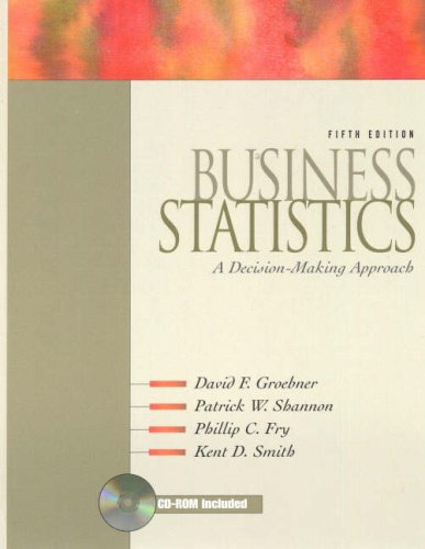 9780130108562: Business Statistics: A Decision-Making Approach