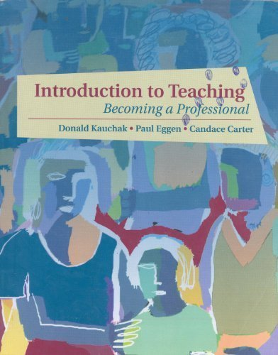 9780130108586: Introduction to Teaching: Becoming a Professional